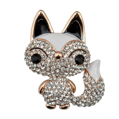 Broches Renard Strass | Malin-Renard
