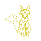 Stickers Renard <br> Origami Home