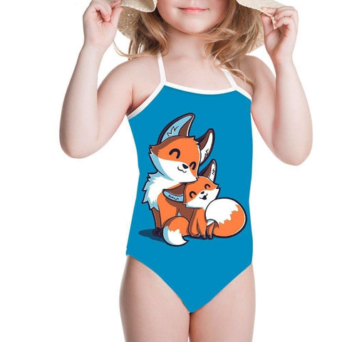 Maillot de Bain Renard Cartoon | Malin-Renard