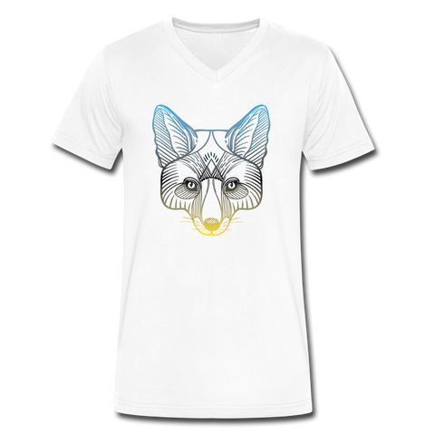 T-Shirt Renard <br> Design - white