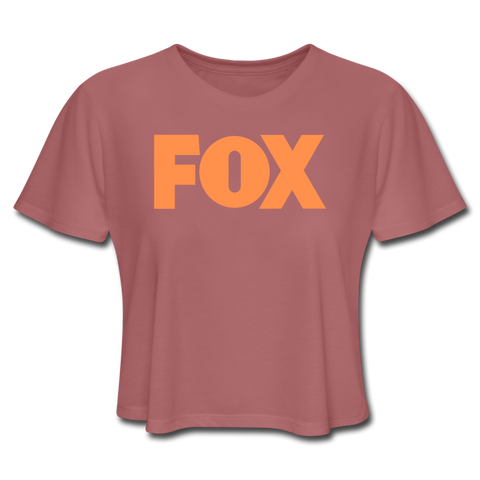 T-Shirt Renard <br> FOX - mauve