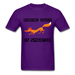 T-Shirt Renard <br> Homme REVU - purple