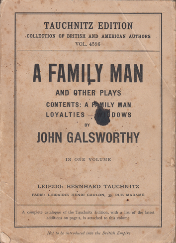 FAMILY MAN AND OTHER PLAYS