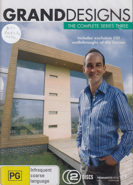 GRAND DESIGNS DVD COMPLETE SERIES 3