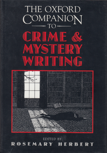 OXFORD COMPANION TO CRIME AND MYSTERY WRITING