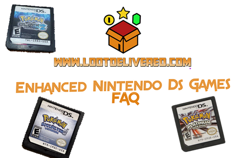 Pokemon Soul Silver Heart Gold Platinum Black White Pearl Diamond FAQ