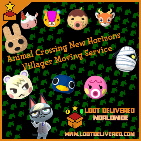 Animal Crossing New Horizons Villager Service