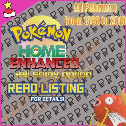 Get all the Pokemon from 1998 to 2019!