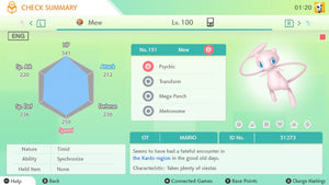 Event Collector 150+ Pokemon Distribution & Event Pokemon Home Upload Service - InfiniteStick