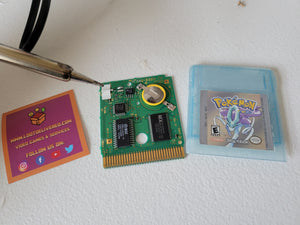 POKEMON CRYSTAL All 251 SHINY GAME Enhanced AUTHENTIC & NEW BATTERY!