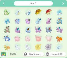 Load image into Gallery viewer, Pokemon Sword and Shield Completion | Galar Region 36 Boxes of all the Pokemon Native To Galar, Both shiny & Nonshiny included!