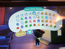Load image into Gallery viewer, Animal Crossing New Horizons ⏱️ Loot Run!👟 ALL DIY, Gold items, Celeste items, Fossils, Wallpaper & Flooring and more - InfiniteStick