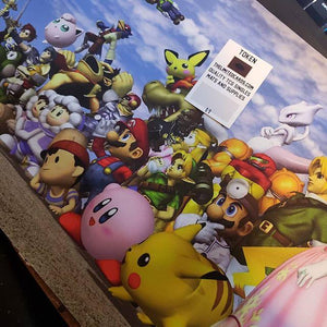 Super Smash Brothers | Nintendo 64 | Card and giant mouse pad - InfiniteStick