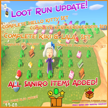 Load image into Gallery viewer, Animal Crossing New Horizons ⏱️ Loot Run!👟All Items and DIY | Bulk Materials & more!