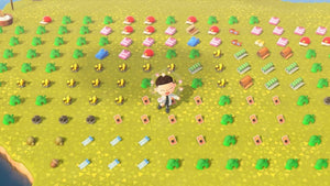 Animal Crossing New Horizons ⏱️ Loot Run!👟 ALL DIY, Gold items, Celeste items, Fossils, Wallpaper & Flooring and more - InfiniteStick