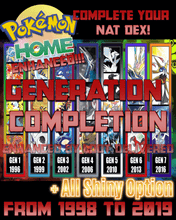 Load image into Gallery viewer, Pokémon HOME Generation Service - Transfer - InfiniteStick