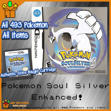 Pokemon Soul Silver All 493 Pokemon Enhanced! - InfiniteStick