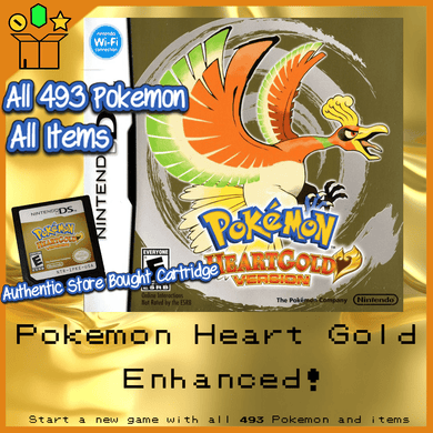 Pokemon Heart Gold All 493 Pokemon Enhanced! - InfiniteStick