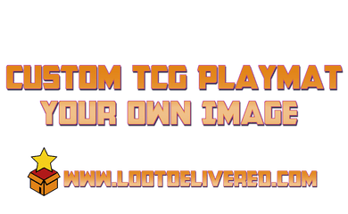 Custom TCG Playmat - We put your own Waifu, Meme or anything else on a playmat - InfiniteStick