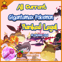Load image into Gallery viewer, All 49 Gigantamax Pokemon - Pokemon Home Transfer - InfiniteStick