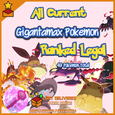 All 49 Gigantamax Pokemon - Pokemon Home Transfer - InfiniteStick