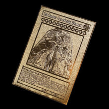 Load image into Gallery viewer, YuGiOh Gold Metal Cards  Awesome Yu-Gi-Oh Tokens - InfiniteStick