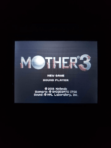 Mother 3 - Earthbound 2 GBA - English - InfiniteStick