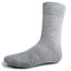 Gray Solid Dress Socks