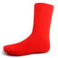 Red Solid Dress Socks