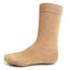 Taupe Solid Dress Socks