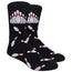 Fallen Pins Novelty Dress Socks