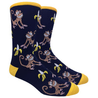 The Hungry Monkey Novelty Dress Socks
