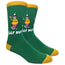 Golf Nut Novelty Dress Socks