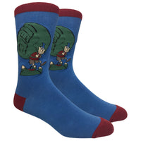 The Hiker Novelty Dress Socks