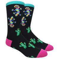 Gecko Novelty Dress Socks