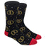 Pretzel Novelty Dress Socks