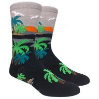 Sunset Novelty Dress Socks
