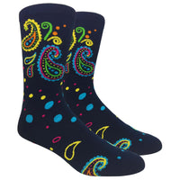 Paisley Novelty Dress Socks