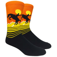 Rodeo Novelty Dress Socks