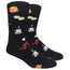 Breakfast Novelty Dress Socks