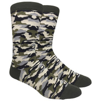 Camo Novelty Dress Socks