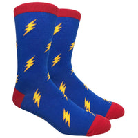 Lightning Novelty Dress Socks