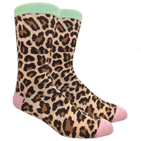 Leopard Novelty Dress Socks