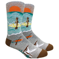 Surf's Up Novelty Dress Socks