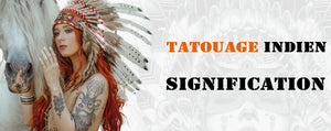 Tatouage Indien Signification