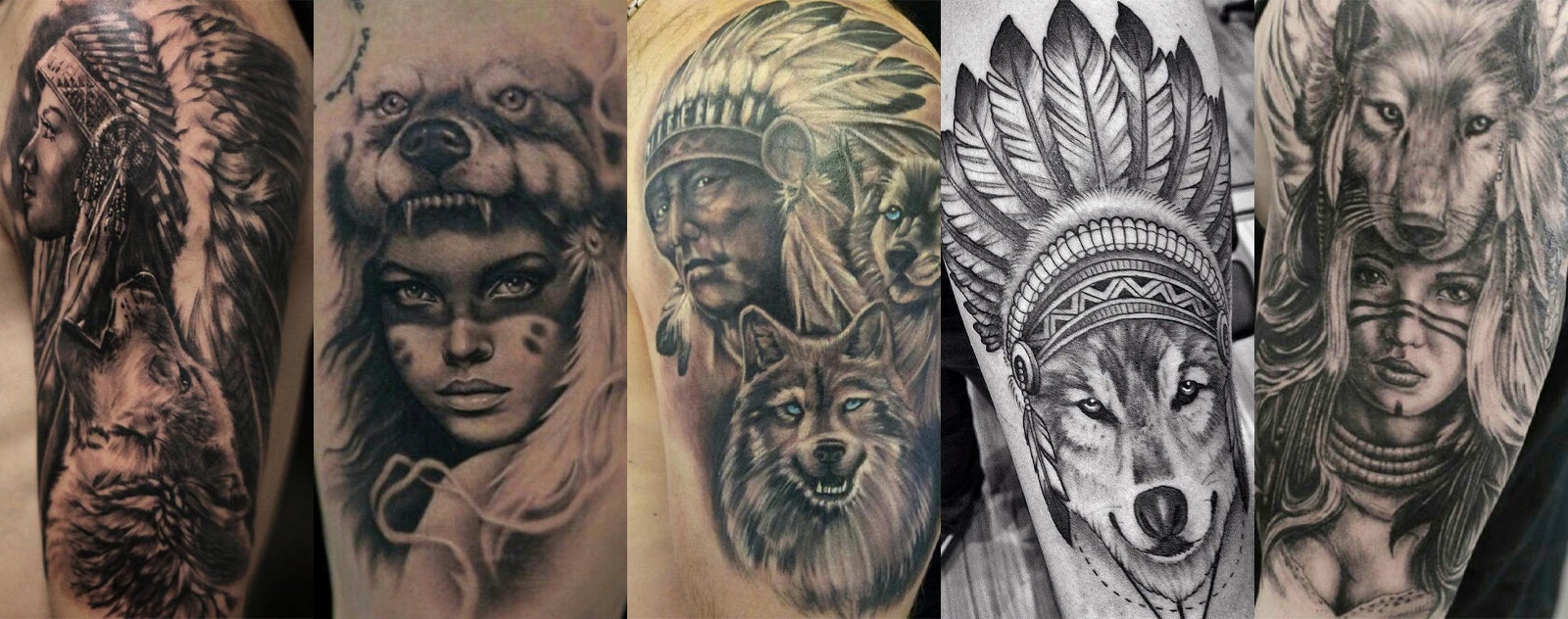 Tatouage Loup Indien Signification