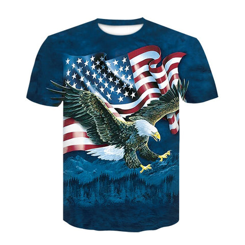 T-Shirt Indien :<br>The United States of America