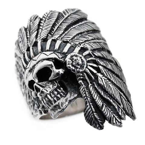 Bague Coiffe Indienne | Le-Geronimo-Store