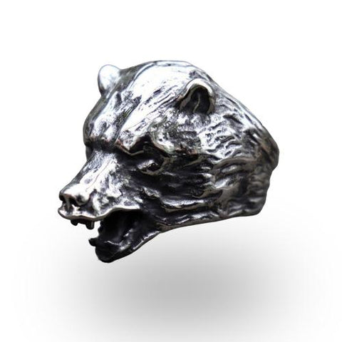 Bague Tête Ours | Le-Geronimo-Store