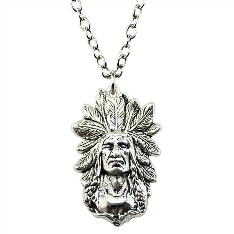 Collier Guerrier | Le-Geronimo-Store
